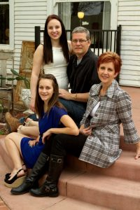 The Stahl Family ~ Scott, Natalie, Brailey & Landrie